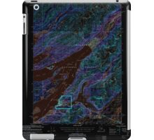 USGS TOPO Map Alaska AK Cordova C-5 355189 2000 63360 Inverted iPad Case/Skin