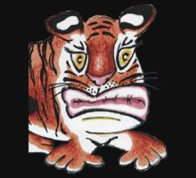 Sulking Tiger Baby Tee