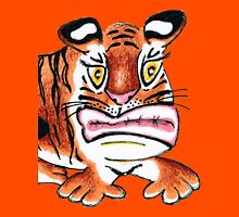 Sulking Tiger Unisex T-Shirt