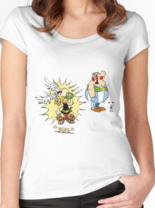 asterix Women's Fitted Scoop T-Shirt