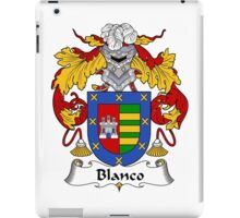 Blanco Coat of Arms/Family Crest iPad Case/Skin
