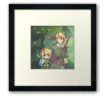 Legend of Zelda - Videogame Framed Print