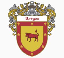 Borges Coat of Arms/Family Crest Kids Tee