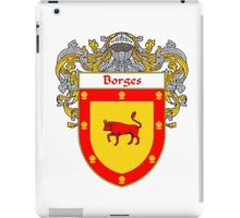 Borges Coat of Arms/Family Crest iPad Case/Skin