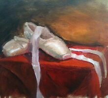 Still Life - Pointe Shoes by Amanda Brown