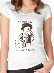 Migration Women's Fitted Scoop T-Shirt