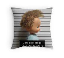 JIM BOB HOGG Throw Pillow