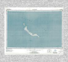 USGS TOPO Map Alaska AK St Matthew 361382 1951 250000 Kids Tee
