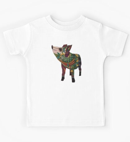 pig love jade Kids Tee