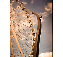 Wheel of Brisbane Photographic Print