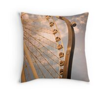 Wheel of Brisbane Throw Pillow