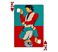 Godot: The King Of Hearts Photographic Print