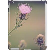 WILD Thistles iPad Case/Skin