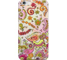 Paisley Falling iPhone Case/Skin