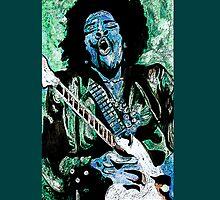 """Jimmi Hendrix 2"" by Kevin J Cooper"