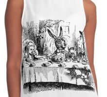 Vintage illustration Alice's Adventures in Wonderland  Contrast Tank