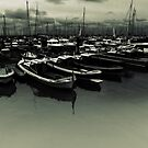 Port d'Arcachon by Cyril Marchand
