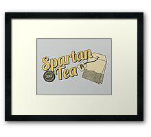 Spartan Tea Framed Print