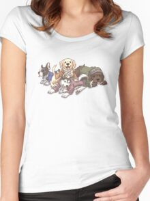 Hamilton Musical x Broadway Dogs Women's Fitted Scoop T-Shirt