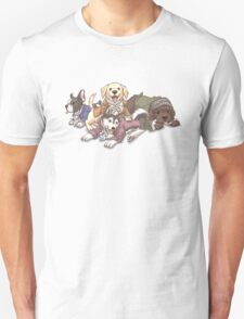 Hamilton Musical x Broadway Dogs Unisex T-Shirt