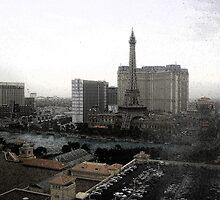 Las Vegas From My Window by tvlgoddess