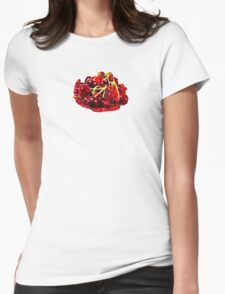 Cherry Womens Fitted T-Shirt