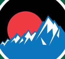 YOSEMITE NATIONAL PARK CALIFORNIA MOUNTAINS EXPLORE HIKING CAMPING HIKE CAMP  Sticker