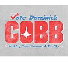 Vote Cobb Photographic Print