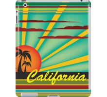 Welcome to California iPad Case/Skin