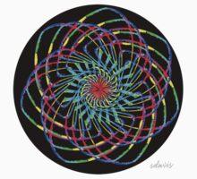sdd Colorful Line Fractal 3H by mandalafractal