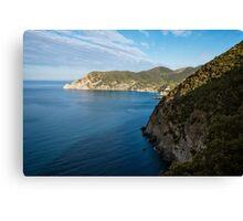 Monterosso and the Cinque Terre Coast Canvas Print