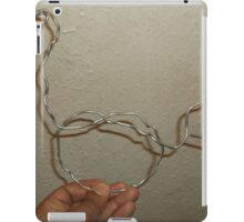 Abstract bird -(070616)- Wire Sculpture iPad Case/Skin