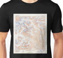 USGS TOPO Map Alaska AK Mount McKinley A-1 357752 1954 63360 Unisex T-Shirt