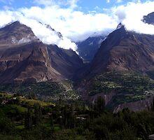 Hunza Valley by Freja Friborg
