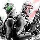 Splinter Cell fan art by Hushy