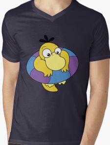 Floating Psyduck  Mens V-Neck T-Shirt
