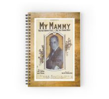 My Mammy Al Jolson Vintage Piano Sheet Music Spiral Notebook