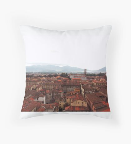 Lucca, Italy  Throw Pillow