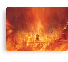 Nibelheim Hell (65 left!) Canvas Print