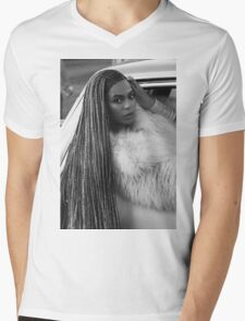 Beyoncé Let's Get In Formation! ~ Mens V-Neck T-Shirt