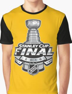 NHL stanley Cup 2016 Final Logo Graphic T-Shirt