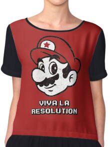 Viva la Resolution Chiffon Top