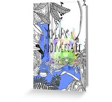 In the jungle- Happy birthday in French Greeting Card