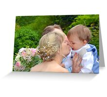 A Kiss For Mum, Greeting Card