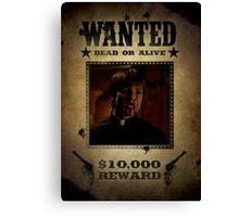 Buffy Caleb Nathan Fillion Wanted 4 Canvas Print