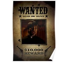 Buffy Caleb Nathan Fillion Wanted 4 Poster