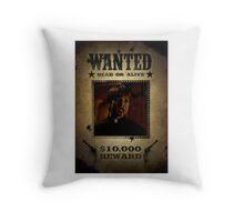 Buffy Caleb Nathan Fillion Wanted 4 Throw Pillow