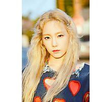 Girls Generation Taeyeon Why Photographic Print