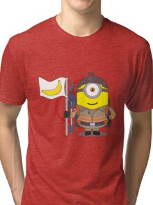 Minion Ghostbuster Tri-blend T-Shirt