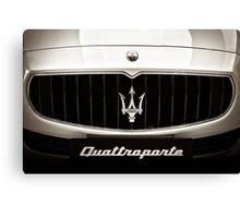 Maserati Quattroporte Canvas Print